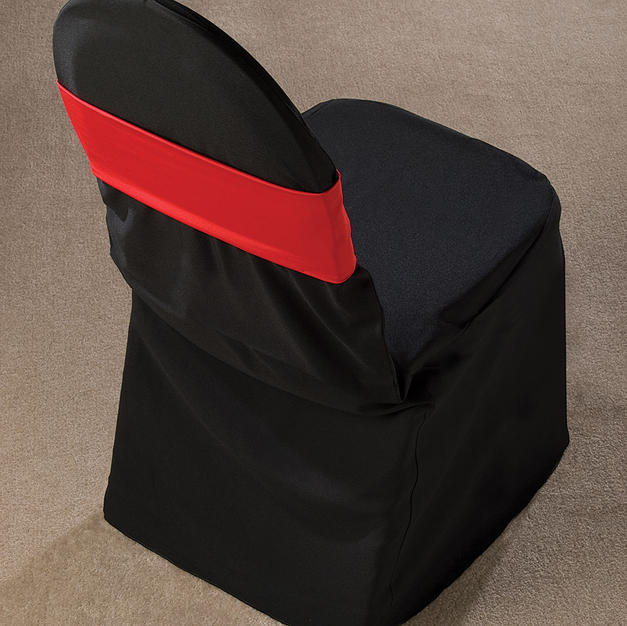 Red Spandex Chair Band