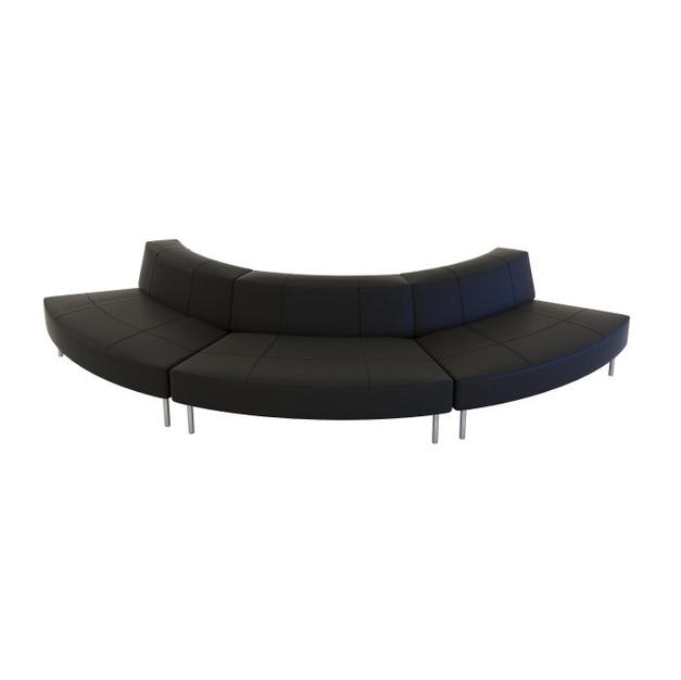 Endless Small Curve Low Back Sofa