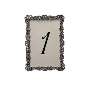 Couture Pewter Table Number