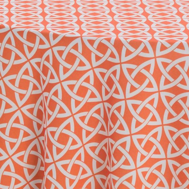 Mystique Tangerine Prints