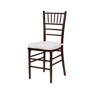 Steel Core Mahagony Chiavari Chair