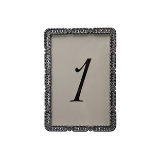 Nina Silver Table Number