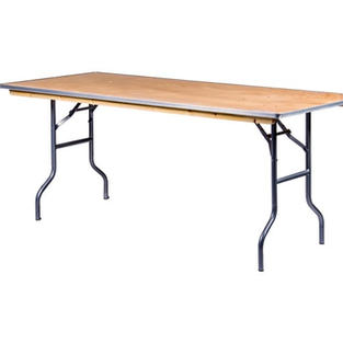 6' Standard Wooden Table