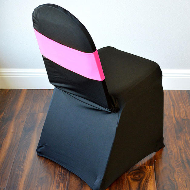 Hot Pink Spandex Chair Band