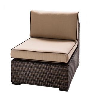 Boca Armless Chair, Tan
