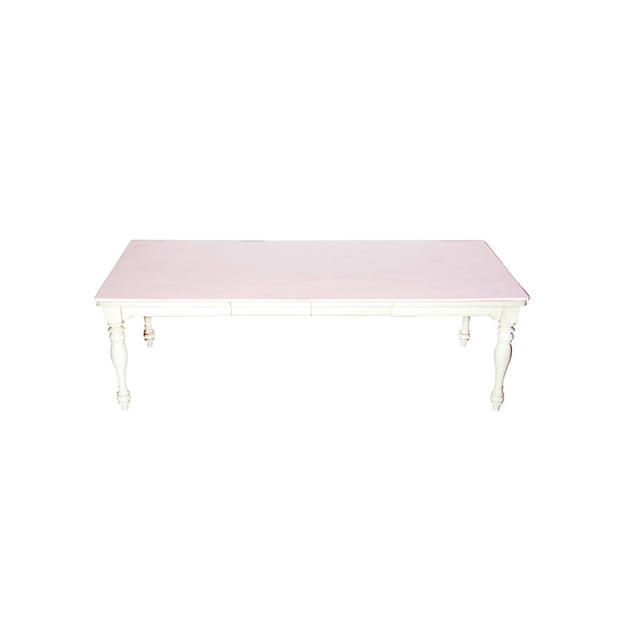 Chameleon Table with Colored Topper
