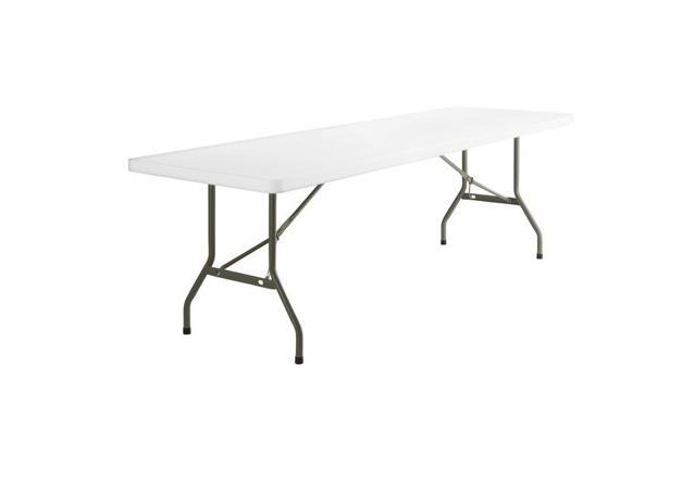 8' Standard Plastic Table