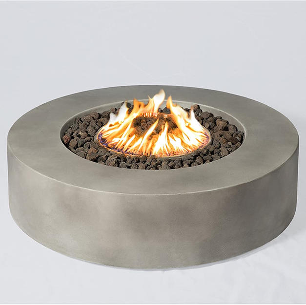 Round Outdoor Fire Pit