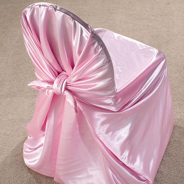 Pink Satin Pillow Case Cover