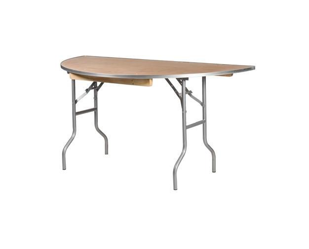 "48"" Half Round Table"