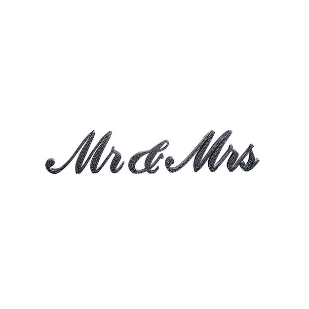 Mr And Mrs Bling Sign