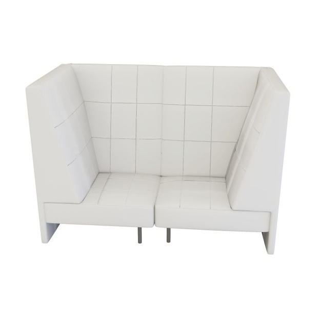 Endless High Back Loveseat w/ Arms