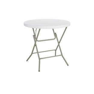 "32"" Round Plastic Low Top Table"