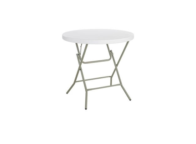 """32"""" Round Plastic Low Top Table"""
