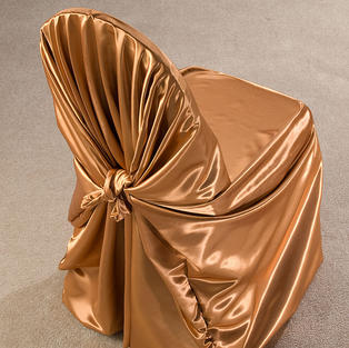 Copper Satin Pillow Case Cover