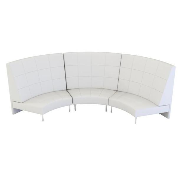 Endless Large Curve High Back Sofa