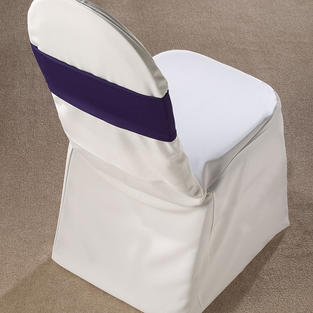 Navy Spandex Chair Band
