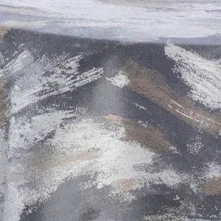 Watercolor Silver Metallic