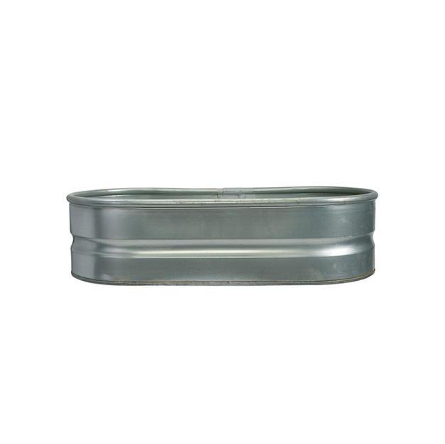 Oval Metal Beverage Tub