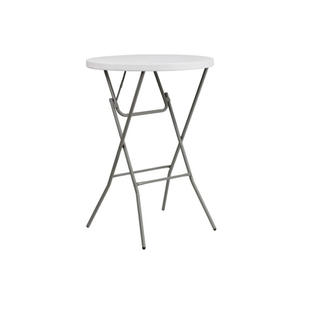 "32"" Round Plastic High Top Table"