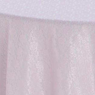 Blush Garden Lace Overlay
