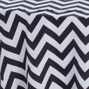 Black Chevron Prints Overlay