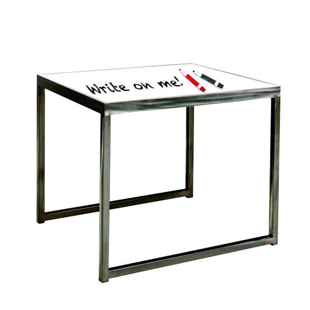 Sydney End Table Whiteboard