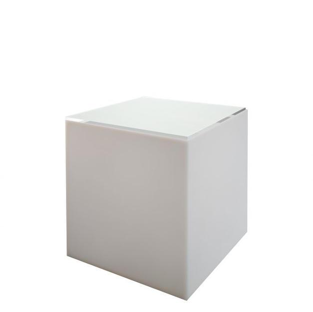 Edge LED Cube Table