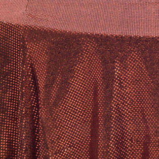 Copper 3M Sequins Overlay