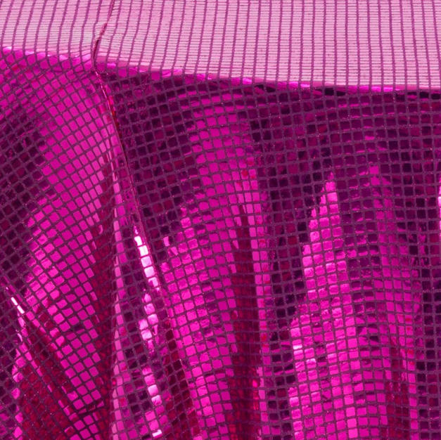 Hot Pink Mirrorball Overlay