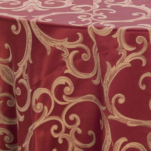 Chopin Rust Damask