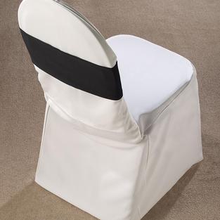 Black Spandex Chair Band