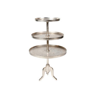 53″ Silver Dessert Stand – 3 Tiers