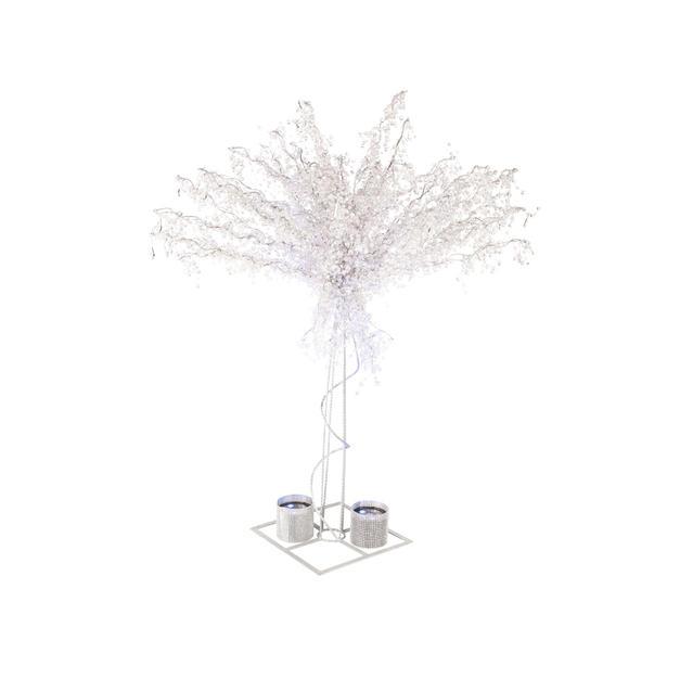8′ Crystal Trees