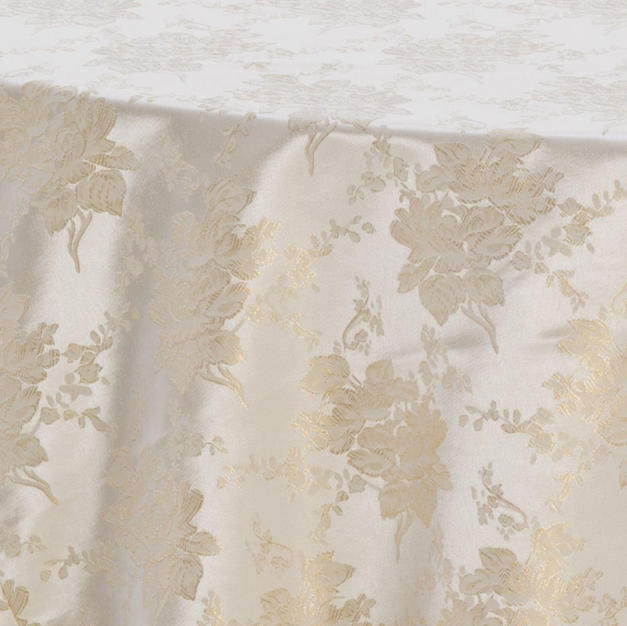 Ivory Gold Touch of Elegance