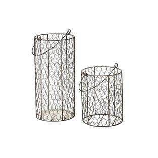 Chicken Wire Vase