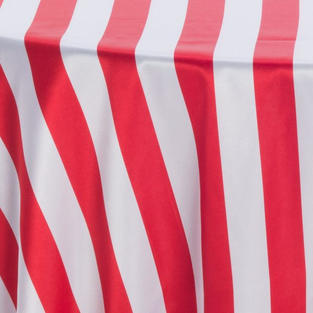 Red White 3 Inch Stripes