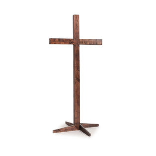 Mahogany Wooden Cross