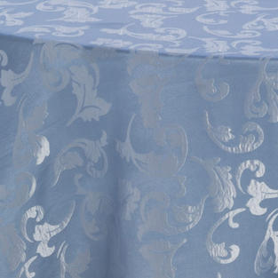 Colonial Blue Damask