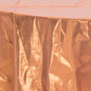 Copper Tissue Lame Overlay