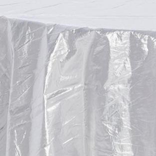 Silver Tissue Lame