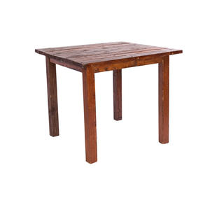4' x 4' Mahogany Farm Tables