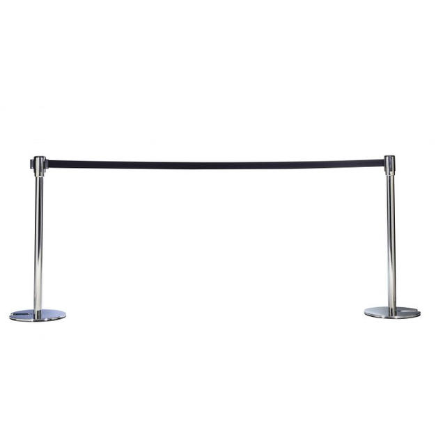 Stanchion with Retractable Belt