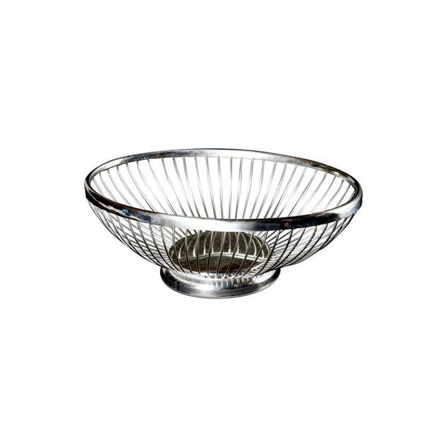 Silver Wire Oval Bread Baskets