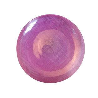 Purple Glitz Glass Charger