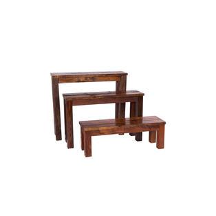4' Mahogany Bench