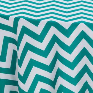 Emerald Chevron Prints Overlay