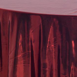 Red Liquid Lame Overlay