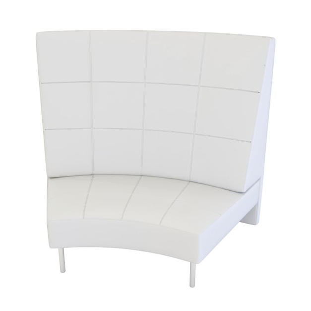 Endless Large Curve High Back Chair