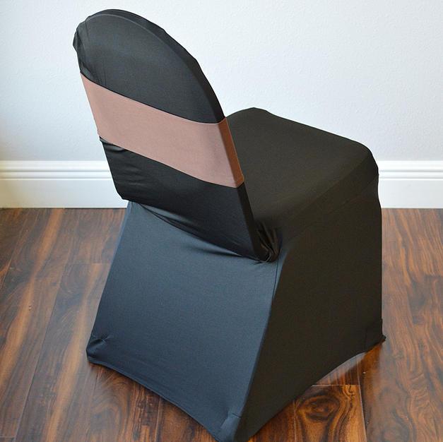 Chocolate Spandex Chair Band